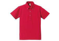 5052-01 5.3オンス ドライCVCポロシャツ(ボタンダウン)